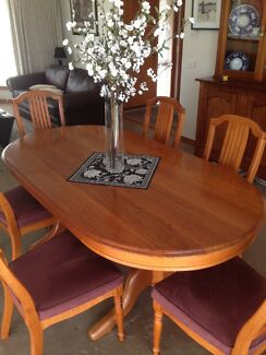 Blackbutt Dining Table ( plus option of 6 matching chairs) Highton Geelong City Preview
