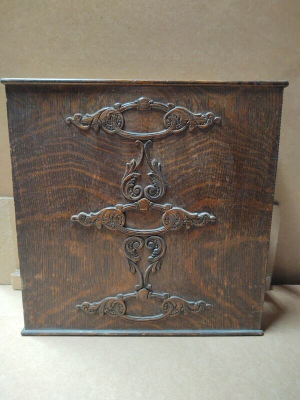 Singer Treadle Sewing Machine Wood 3 Drawer Cabinet FRAME with Embossing (B)