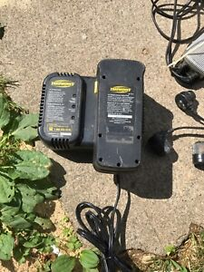 Yardworks battery & charger