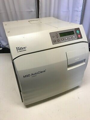 Ritter M9d Ultraclave Autoclave Steam Automatic Sterilizer System 182 Cycles