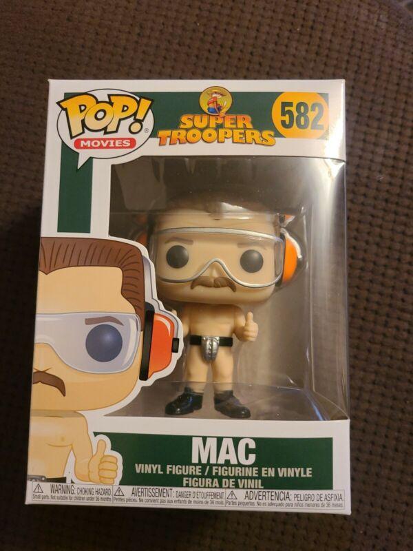 Funko Pop Super Troopers Mac #582
