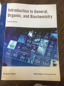 Introduction to General Organic and Biochemistry textbook