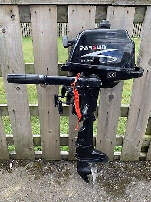 Used Parsun 2.6 Hp 4 Stroke  Outboard Short Shaft Engine