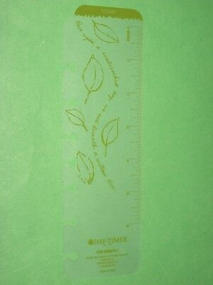 Desk Page Finder Yellow Floral Day Timer Planner Flavia Franklin Covey Classic