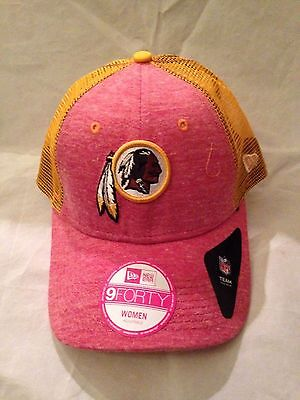 huge selection of 1a379 06b3e Washington Redskins NEW Women s Adjustable Tri-Blend Trucker Hat . NFL  Football