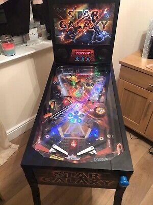 STAR GALAXY PINBALL MACHINE - VGC