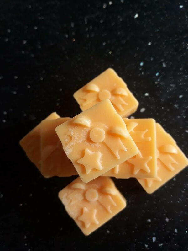 Brand+new+set+of+18+Chocolate+Orange+Scented+wax+melts.+100%25+natural+soy+wax.