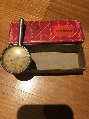 Starrett Indicator No 196 .001 Accuracy Use Vintage