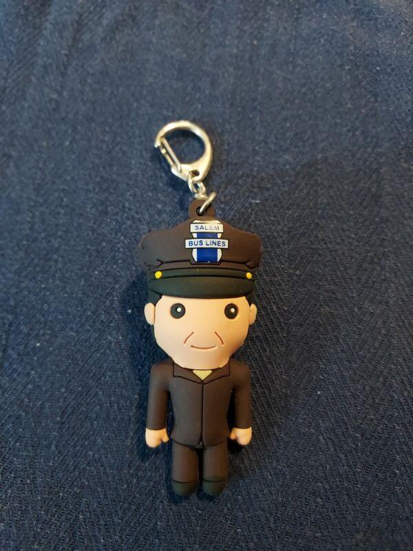 Disney Hocus Pocus Series 2 Keychain Bus Driver Key Chain Spirit Halloween
