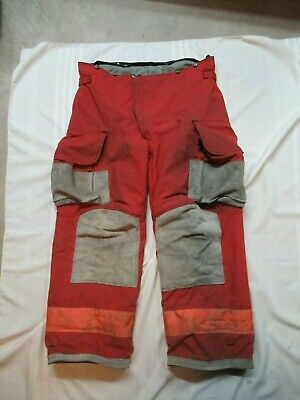 Lion Janesville 40r Firefighter Turnout Bunker Gear Pants Rescue Tow