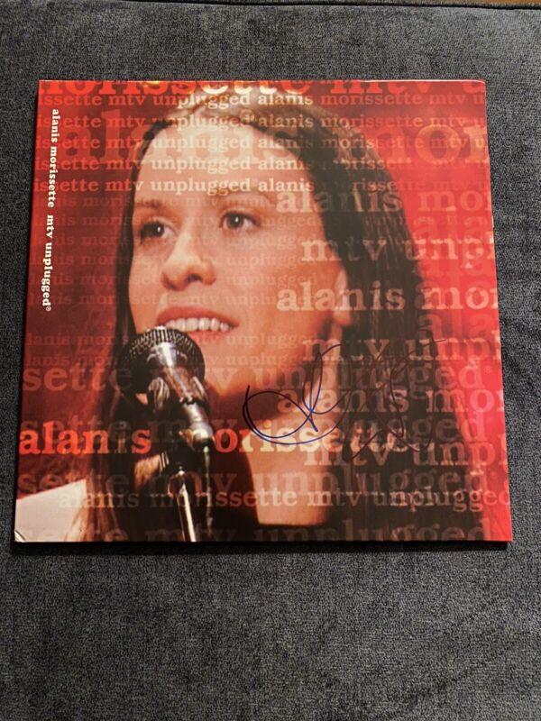 "alanis morissette ""MTV Unplugged"" signed Viynl"