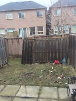 Fence need repaired