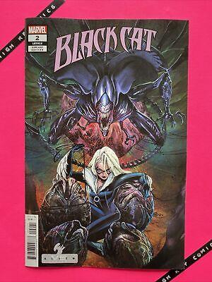 Black Cat #2 Variant Peach Momoko Alien Cover B Marvel 2021 NM (King in Black)
