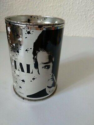 Hucha de metal Special James Dean en blanco y negro. Darling diseño Joanna.