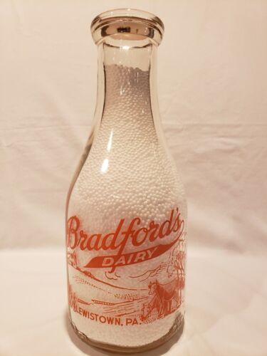 NICE Pennsylvania Milk Bottle, Bradford