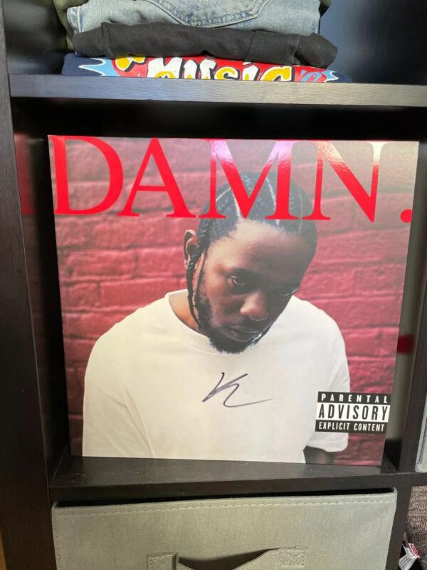 Kendrick Lamar DAMN. Signed RED Vinyl