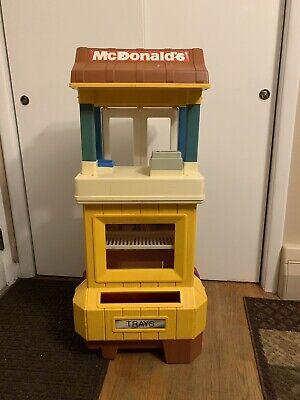 Vintage 1989 Fisher Price McDonalds Drive Thru Playset - RARE Playhouse
