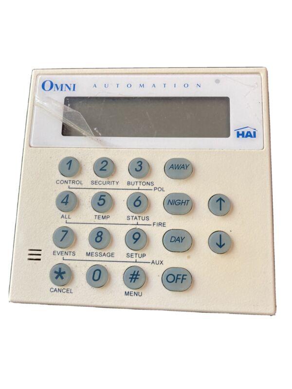 HAI 11A03-1 Omni Automation Console
