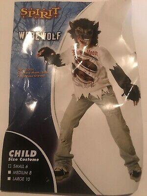Spirit Werewolf Child Costume. Size Small 6. Added Bonus Custom Jeans - Kids Customes
