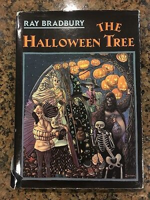 SIGNED The Halloween Tree By Ray Bradbury 1989](The Halloween Tree 1st Edition)