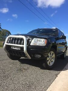 Jeep Grand Cherokee WG limited wagon Ingleburn Campbelltown Area Preview