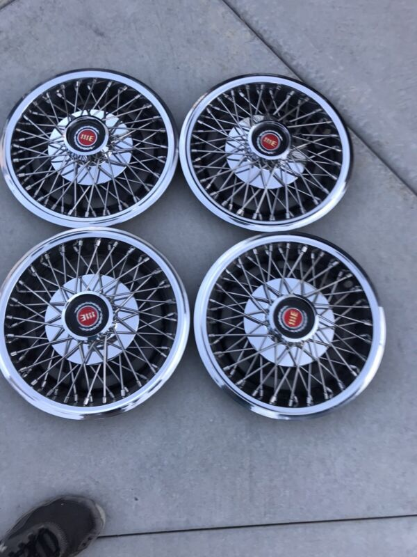 """13"""" Original Ford/Mercury Bobcat/Pinto Wire Wheelcovers"""