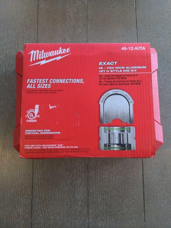 Milwaukee 49-12-KITA Exact 6-750 MCM Aluminum 12T U-Style Die Kit