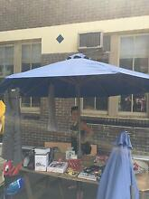 2 parasols blue used Lane Cove Lane Cove Area Preview