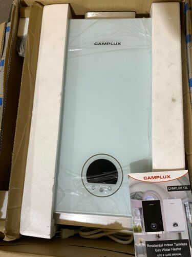 Camplux Liquefied Propane Tankless Water Heater,3.18 GPM 12L