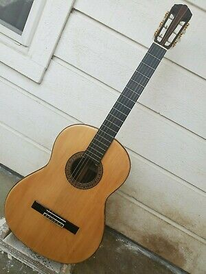 1972 YAMAHA GC-6D GRAND CONCERT CLASSICAL GUITAR, FRENCH POLISHED RESTORED