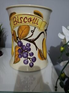 Biscotti fall decor vase