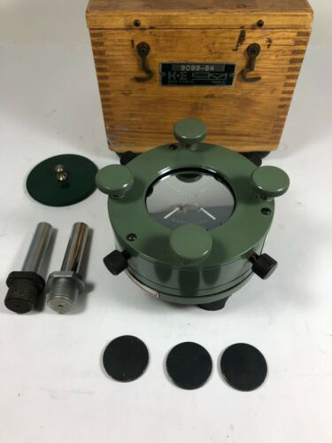 K&E 71 6240 optical tooling spindle mirror magnetic target