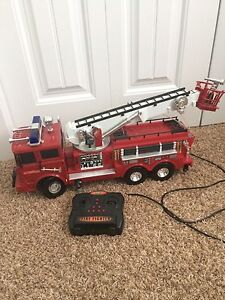 Large remote control fire truck