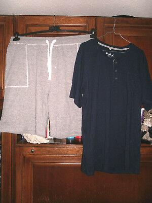 Herren - Homewear -  Freizeitanzug,kurz  Gr. 2XL