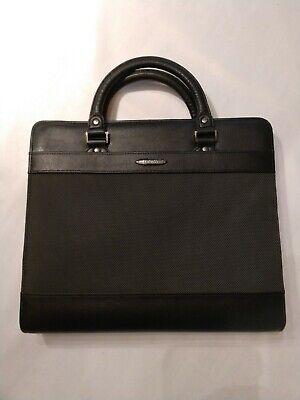 Berlin Day Runner Black Zippered Briefcaseorganizer 3-ring Binder 1091-30