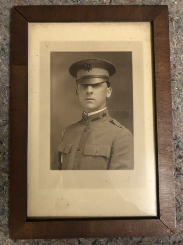 WWI Photo of Signal Corps Officer - US Army Reserves