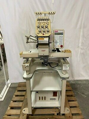Single Head Auto Embroidery Machine Swfb-t601c 6 Needle