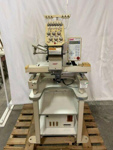 Single Head Auto Embroidery Machine SWF/B-T601C 6 Needle