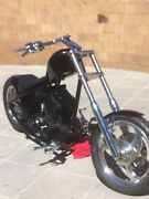 Harley Davidson Chopper with Evo Motor Project Bike Burleigh Waters Gold Coast South Preview