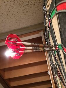 Chizzy 22g Darts (Pixel and Gold) James wade 20g Kitchener / Waterloo Kitchener Area image 4
