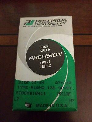 Precision Twist Drills 11/64