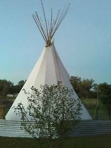 Beautiful hand made tipi 18 ft Yetman Inverell Area Preview