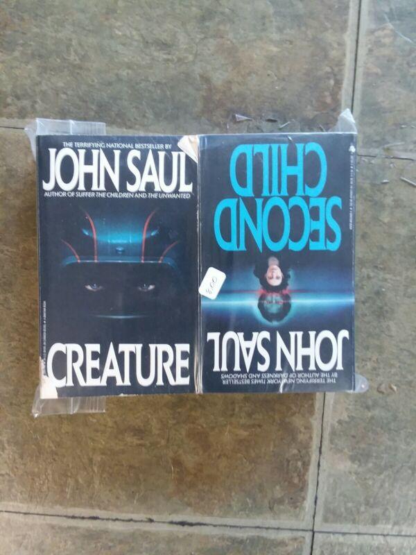 Lot of 4 John Saul Paperback Books