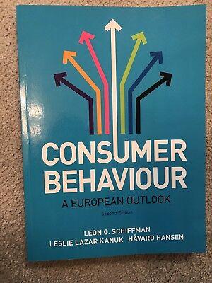 Consumer Behaviour: A European Outlook by Leon G. Schiffman, Leslie Kanuk,...