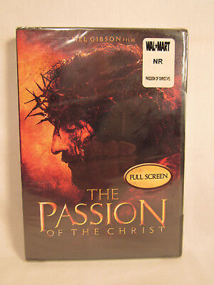 The Passion Of The Christ DVD Mel Gibson Film NEW FACTORY SEALED
