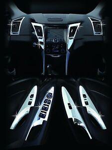 chrome premium interior molding kit c363 fit hyundai sonata i45 2011 2012 2013. Black Bedroom Furniture Sets. Home Design Ideas
