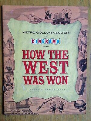 How The West Was Won Souvenir Brochure 1962