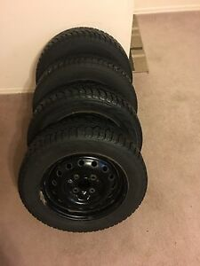 Winter tires and rims /195 60 r15/ 92T XL