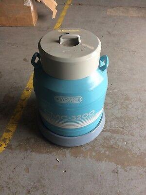 Forma Scientific Cryomed Cmc 3200 Dewar Liquid Nitrogen Tank