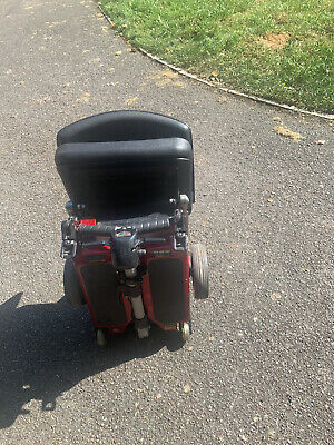 Red Luggie Folding Mobility Scooter